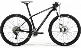 Merida Big Nine Xt Black/white, Zwart
